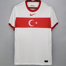 2020 Turkey 1:1 Away Fans Soccer Jersey