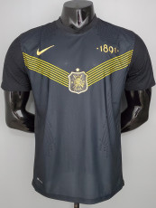 21-22 AIK Solna Black Player Version Soccer Jersey AIK索尔纳