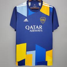 20-21 Boca Juniors 1:1 Third Blue Fans Soccer Jersey