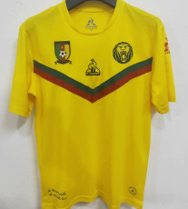 2021 Cameroon Away Yellow Fans Soccer Jersey