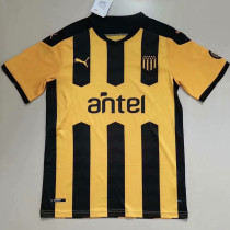 2021/22 Atletico Penarol Black And WHite Fans Soccer Jersey 乌拉圭-佩纳罗尔