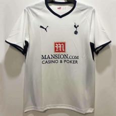 2008-2009 TOT Home White Retro Soccer Jersey