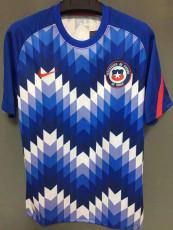 2021 Chile Blue Training Jersey