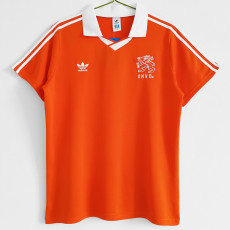 1990-1991 Netherlands Home Retro Soccer Jersey