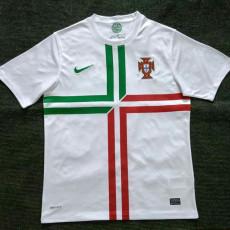 2012 Portugal Away Retro Soccer Jersey