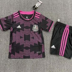 21-22 Mexico Home Kids Soccer Jersey