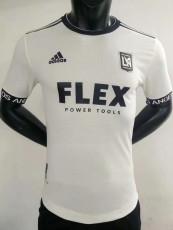21-22 Los Angeles  Away White  Player Version Soccer Jersey 洛杉矶 FC