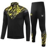 21-22 Dortmund Black Jacket Tracksuit