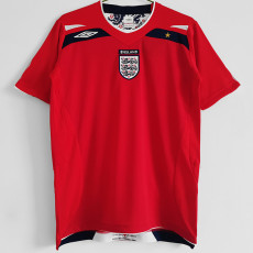 2008 England Away Retro Soccer Jersey