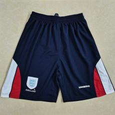 1998 England Home Retro Shorts Pants
