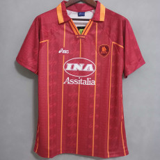 1996-1997 Roma Home Retro Soccer Jersey