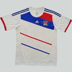 2012-2013 Lyon Home Retro Soccer Jersey