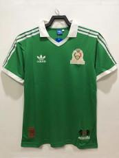 2006 Mexico Home Retro Soccer Jersey