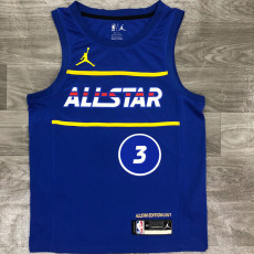 2021 ALL STAR BEAL #3 Blue Top Quality Hot Pressing NBA Jersey