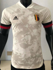 2020 Belgium Away Player Version Soccer Jersey