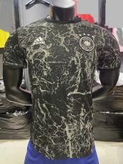 2021 Germany Gray black Player Version Training Jersey