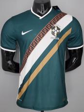 2021 Brazil  Concept Edition Dark Green Player Version Soccer Jersey