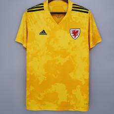 2021 Wales Away Fans Soccer Jersey