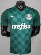 21-22 Palmeiras Home Player Version Soccer Jersey