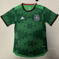 20-21 Mexico Away Green Player version Soccer Jersey