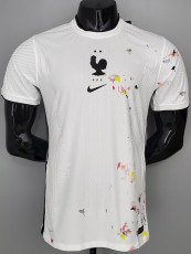 2021 France Special Version Player Version White Training Jersey