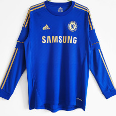 2012-2013 CHE Home Retro Long Sleeve Soccer Jersey
