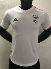21-22 Benfica Away White Player Version Soccer Jersey