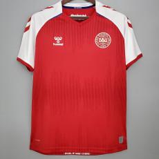2020 Denmark 1:1 Home Fans Soccer Jersey