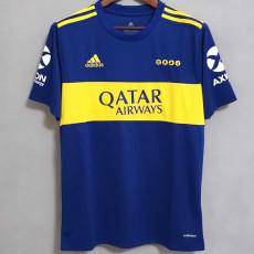 21-22 Boca Juniors Home Fans Soccer Jersey