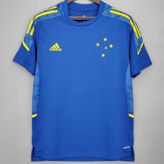 21-22 Cruzeiro Blue Training Jersey