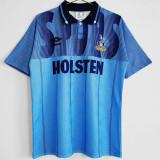 1992-1994 TOT Away Blue Retro Soccer Jersey