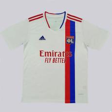 21-22 Lyon White Fans Soccer Jersey