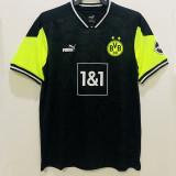 2021 Dortmund 1:1 BLACK EDITION Fans Soccer Jersey