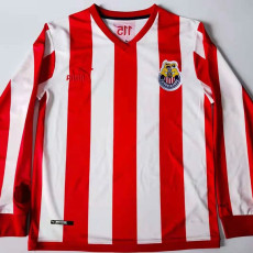 21-22 Chivas 115th Red Long Sleeve Soccer Jersey