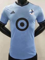 21-22 Minnesota United Home Player Version Soccer Jersey 明尼苏达