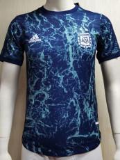 2021 Argentina Blue Player Version Training Soccer Jersey