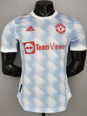 21-22 Man Utd Third Player Version Soccer Jersey