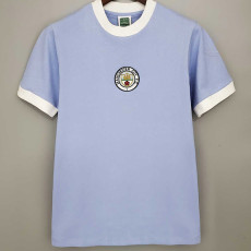 1972 Man City Home Retro Soccer Jersey
