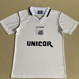 1999 Santos FC Home White Retro Soccer Jersey
