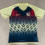 21-22 Club America Blue Yellow Special Edition Fans Soccer Jersey