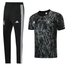 21-22 Germany Dark grey Short-sleeved Trouser Suit