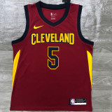 CLEVELAND SMITH JR. # 5 Top Quality Hot Pressing NBA Jersey