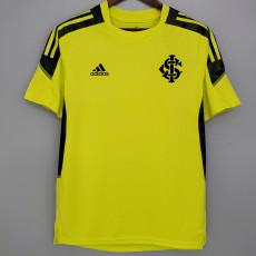 21-22 Internacional Yellow Training Shirt