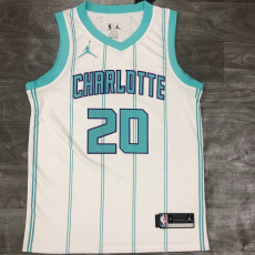 New Hornets HAYWARO #20 White Top Quality Hot Pressing NBA Jersey