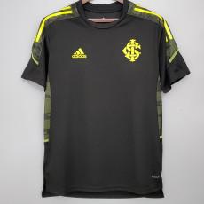 21-22 Internacional Black Training Shirt