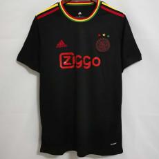 21-22 Ajax Third Black Fans Soccer Jersey