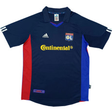 2001-2002 Lyon Away Retro Soccer Jersey