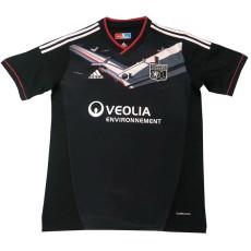 2012-2013 Lyon Away Black Retro Soccer Jersey