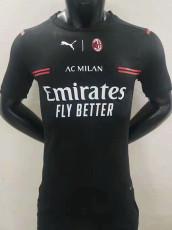 21-22 ACM Black Player version Soccer Jersey