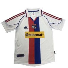 2000-2001 Lyon Home White Retro Soccer Jersey